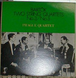 プラハSQバルトーク弦楽四重奏曲5番3番