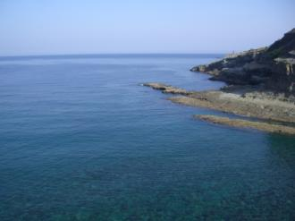 馬場島の海