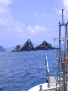 沖の漁場はよぉ~