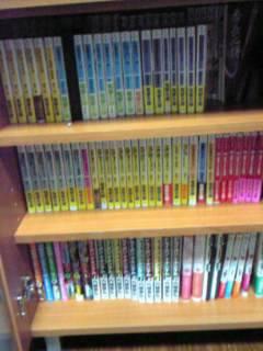本がいっぱ~い(*´д`)