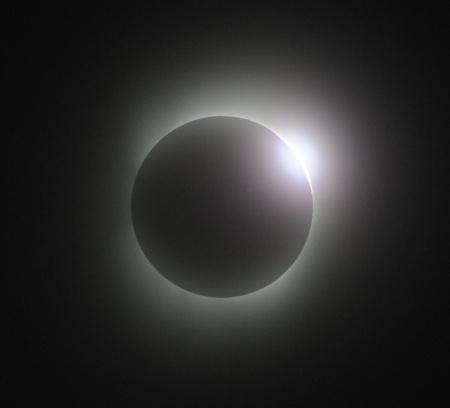 皆既日食 ダイヤモンドリング