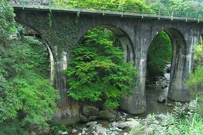 夫婦橋より