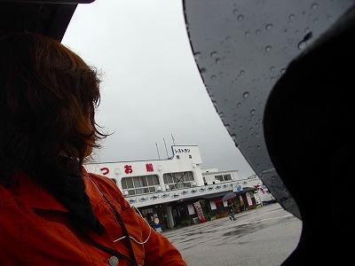 26高知かいだやへ。 ゲリラ豪雨で雨宿り