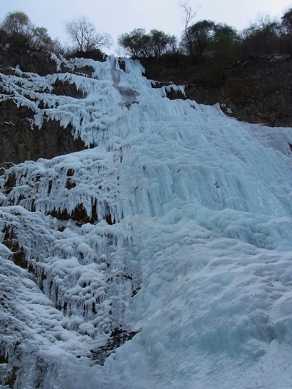 高瀑 凍結