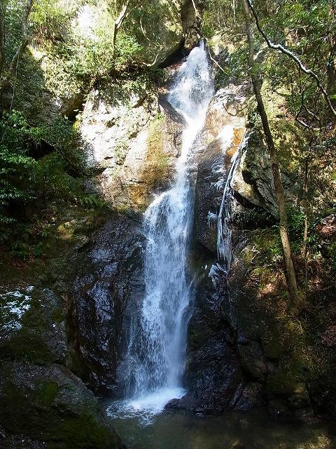45三杯谷の滝