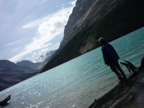ペイトー湖畔