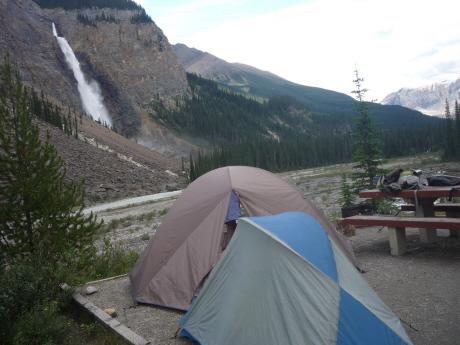 タカカウの滝キャンプサイト