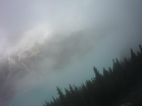 霧のペイトー湖