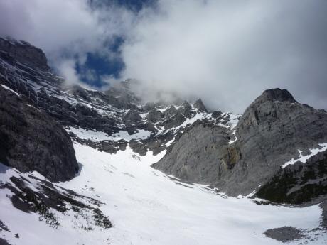Cレベルサーク カスケード山イーストのサーク地形
