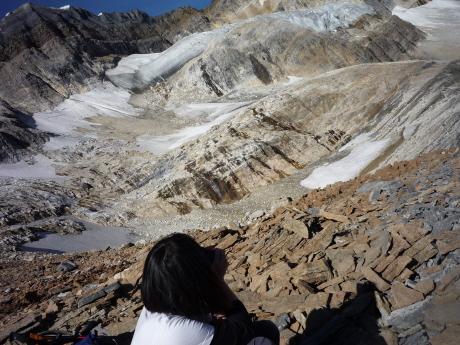 オデレイ氷河