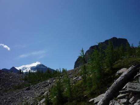 テンプル山とショール山