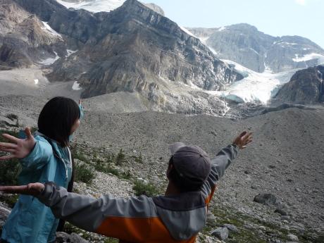 スタンレー氷河