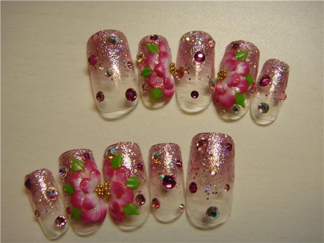 名古屋 栄 ネイルサロン デコアイテム basic nails