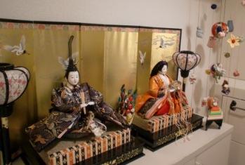2012雛飾り