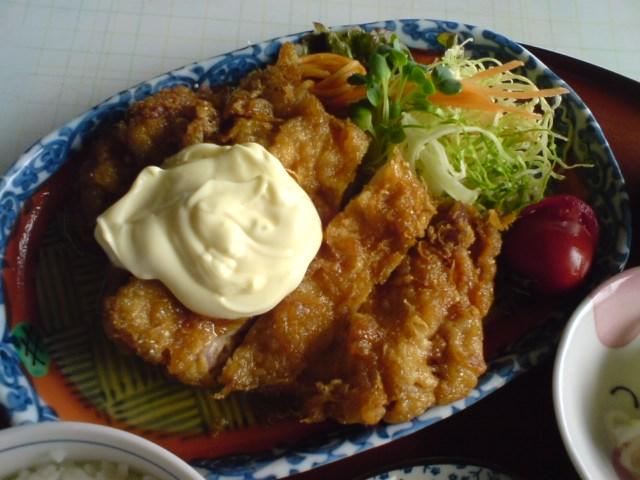 亀山_チキン南蛮定食①