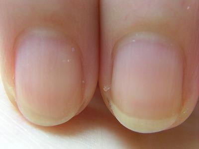 クリアラメネイルのベース素爪