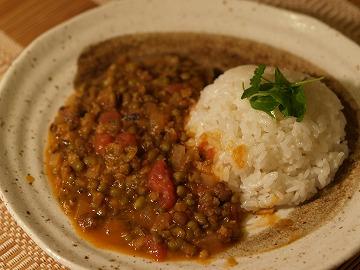 緑豆のシチュー
