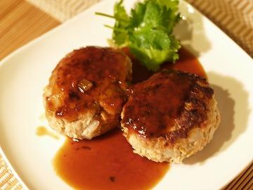 大豆ハンバーグ