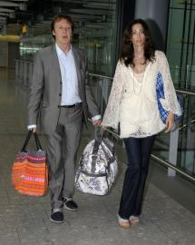 Paul and Nancy in Airport