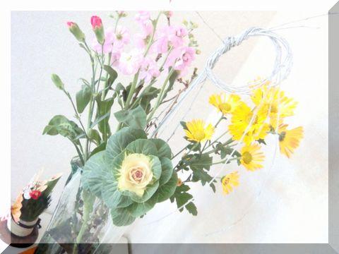 2009年 お正月 花