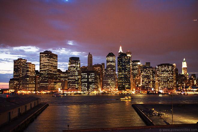N.Yの夜景
