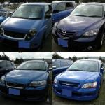 青い車その2