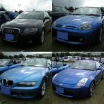 青い車その3
