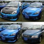 青い車その4