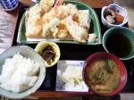 天ぷら定食・・・