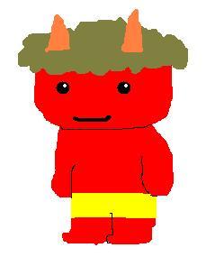 凶悪な鬼の代表格「赤鬼」