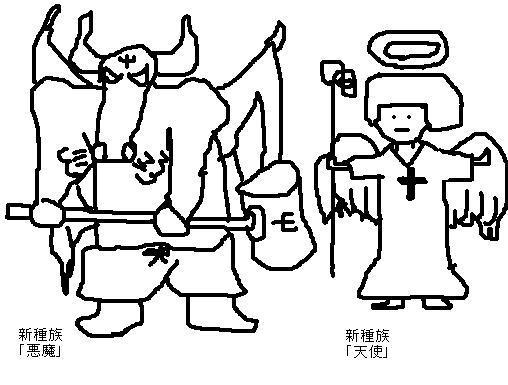 善と悪を司る種族「天使と悪魔」