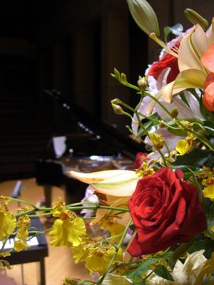 ピアノの発表会へ!
