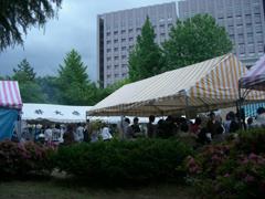 大学祭の様子