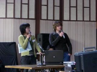 福井大学の留学生。故郷のフランスを英語で紹介