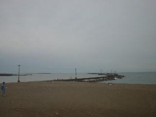 エッシャー(エッセル)が設計した三国の防波堤。エッセル堤とも言われてます。