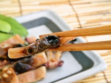 丸干いか(箸)a