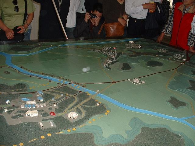 非武装地帯模型