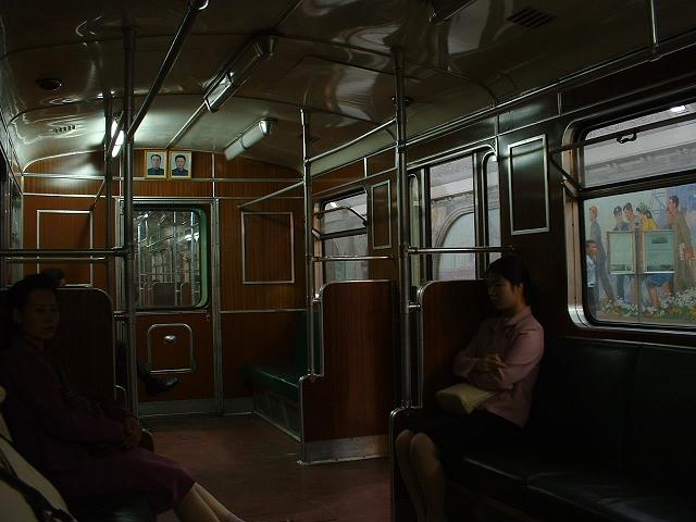 地下鉄社内