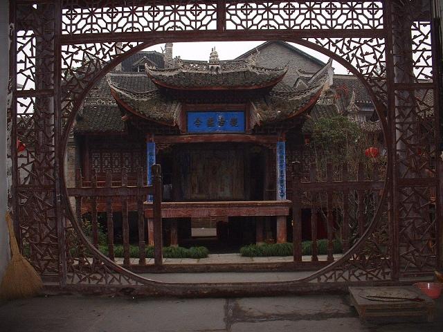 朝陽宮戯台