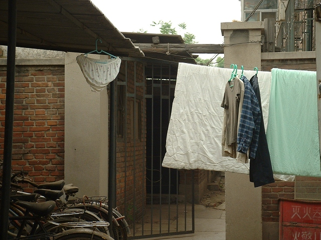 宿舎洗濯物