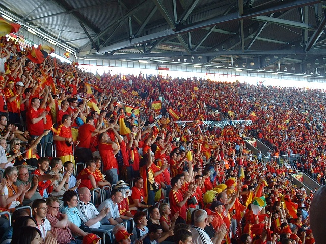 スペイン応援団