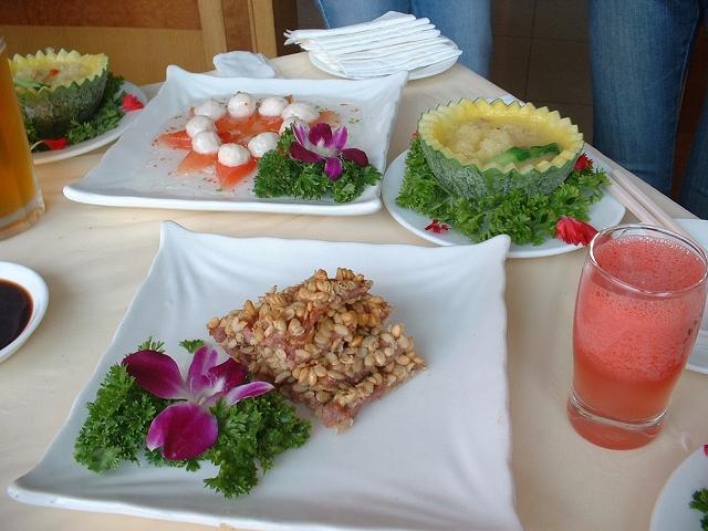 西瓜宴熱菜3品