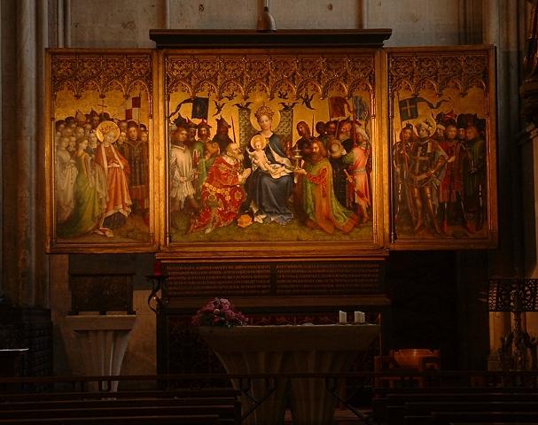 大聖堂の絵