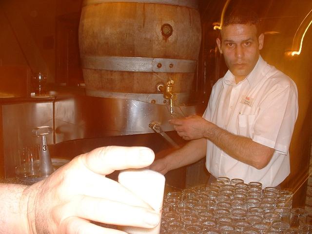 Fruh Brauhausの樽