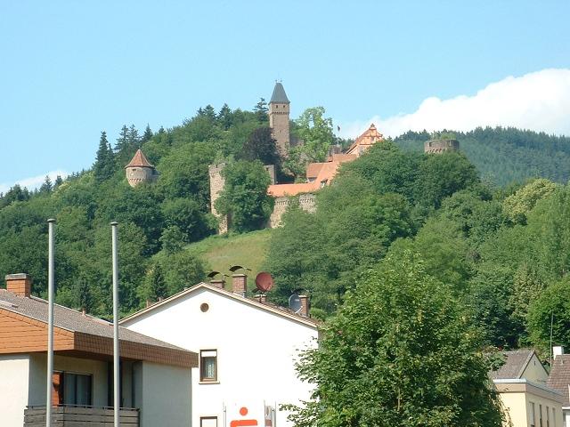 古城ホテル遠景