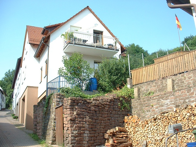 古城ホテルへの坂道