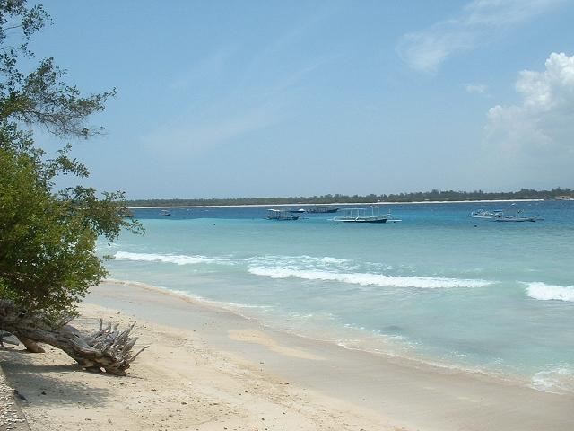 Gili Krawanganビーチ