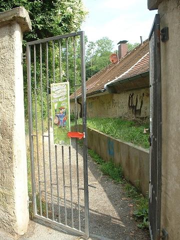 バンベルク小道の入口