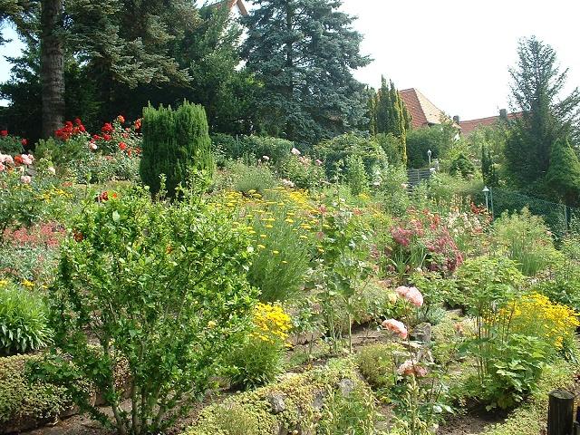 バンベルク住宅地花壇