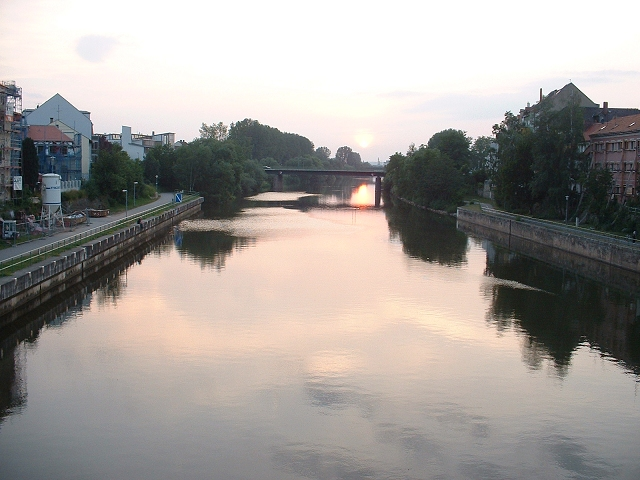 ライン・マイン・ドナウ運河夕陽